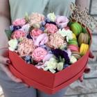 Сердце с цветами №55