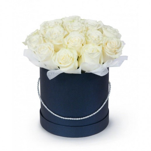 Коробка из 21 розы