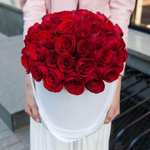 Коробка из 35 роз