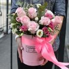 Коробка с цветами №83
