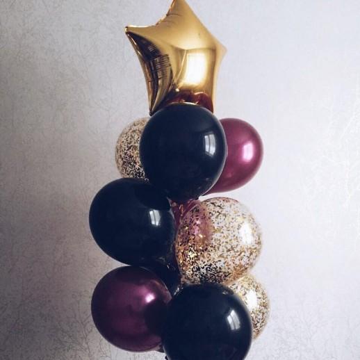 Связка из 10 шаров № 3
