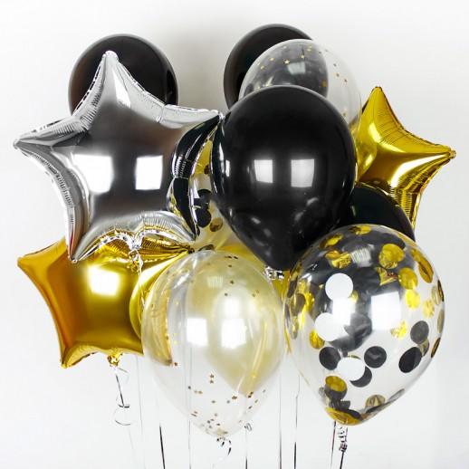 Связка из 10 шаров № 4