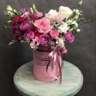 Коробка с цветами № 3733