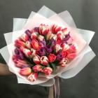 букет из 51 тюльпана № 3765