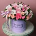 Коробка с цветами № 802