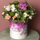 Коробка с цветами № 817