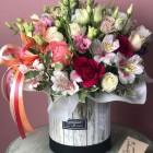 Коробка с цветами № 848