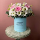 Коробка с цветами № 855